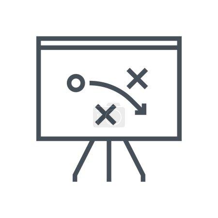 Strategy tactics icon