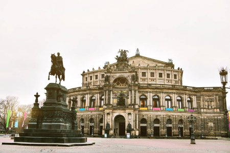 Dresden Zwinger, palace in the eastern Germany, built in Rococo style