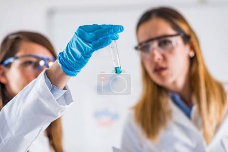 Foto de Investigación científica de laboratorio. Científicos trabajando en su laboratorio - Imagen libre de derechos