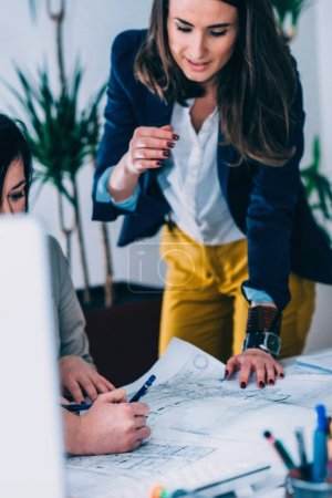 Photo for Female architects on meeting in office - Royalty Free Image