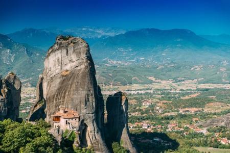 Meteora monasteries, Greece. The Monastery of Rousanou or St. Barbara