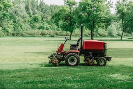 Golf course maintenance equipment, fairway mower