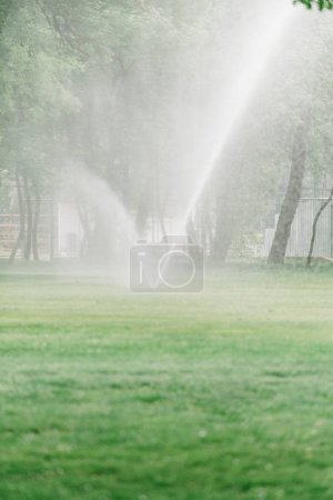 Golf course maintenance equipment, sprinklers