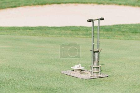 Golf hole cutting equipment