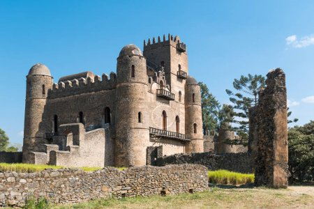 Photo for Ethiopia, Gondar, the Emperor's palace - Royalty Free Image