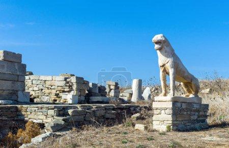 The Roman ruins of Delos