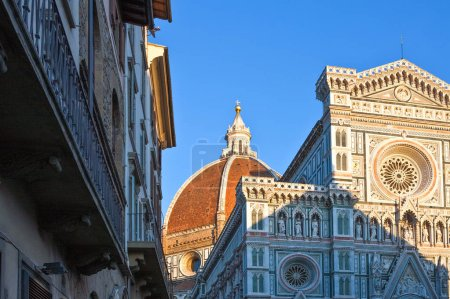 Photo for Italy,Tuscany,Florence,the facade of St. Maria Novella Cathedral - Royalty Free Image