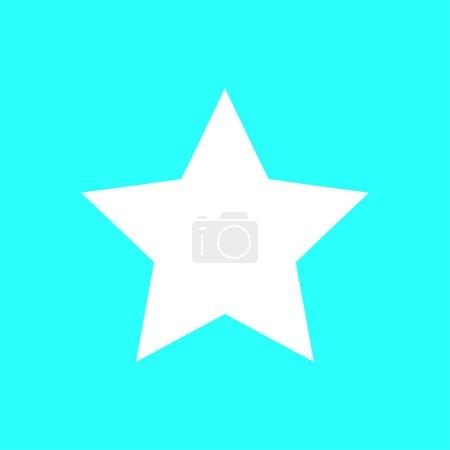 Star icon sign