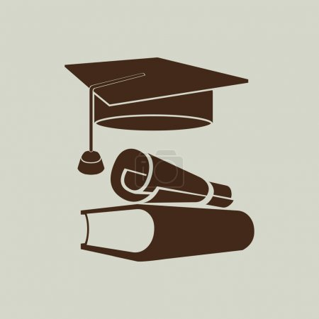 Illustration for Study icon sign vector illustration - Royalty Free Image