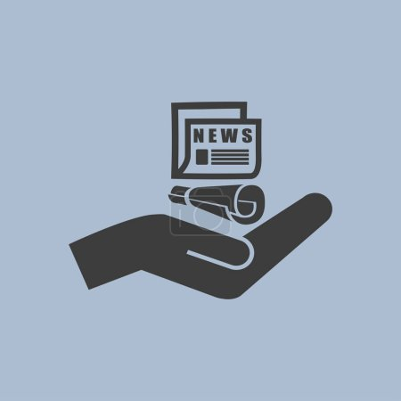 icon of news illustration