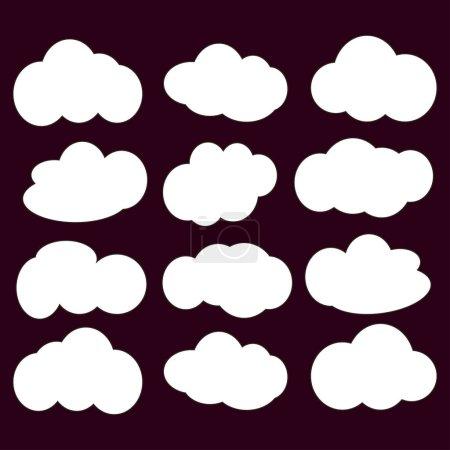 Cloud icon   illustration