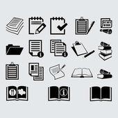Ploché ikony dokumentu