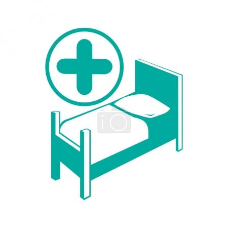 hospital simple icon