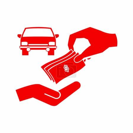 car dealer simple icon