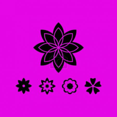 flower sign icon