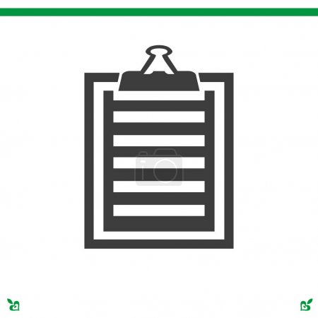 clipboard, list icon set