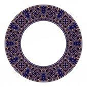 Gold circular pattern 01