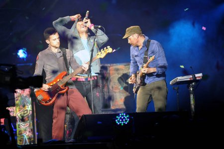 Coldplay Guy Berryman Chris Martin