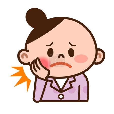 Women of toothache