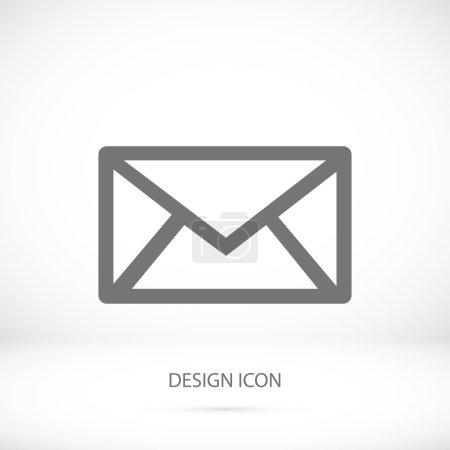 outline envelope icon