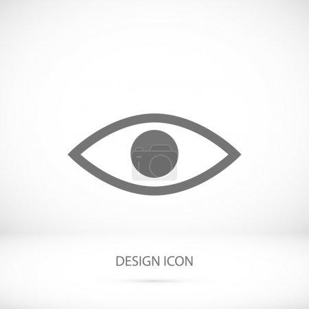 Eye simple icon
