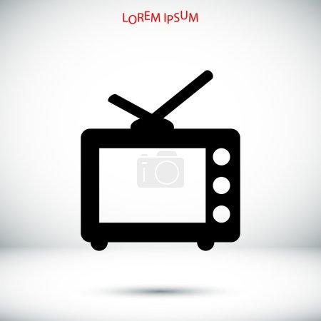 Simple TV icon