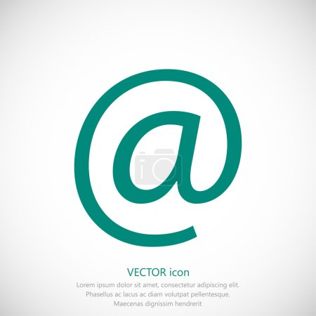 simple email icon