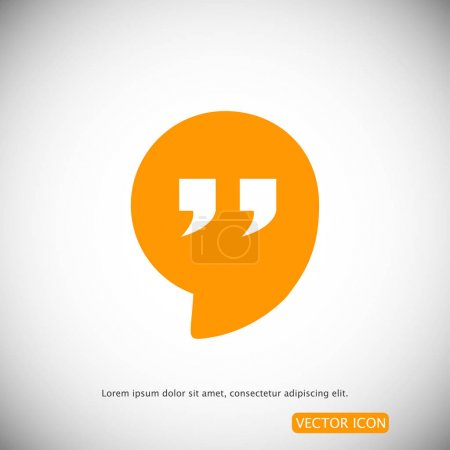 simple Quote icon