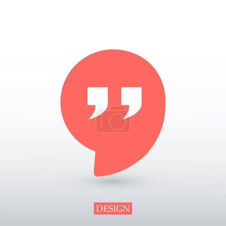 Quote web icon