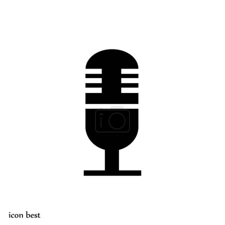 microphone simple icon