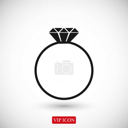 ring with gem icon