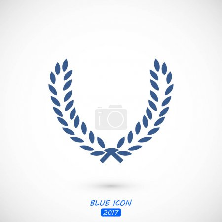Illustration for Wheat ears icon, vector best flat icon, EPS - Royalty Free Image
