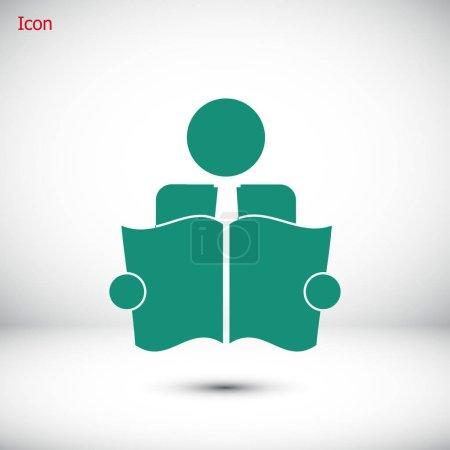 Book Reader Icon