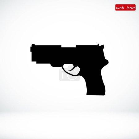 silhouette gun icon