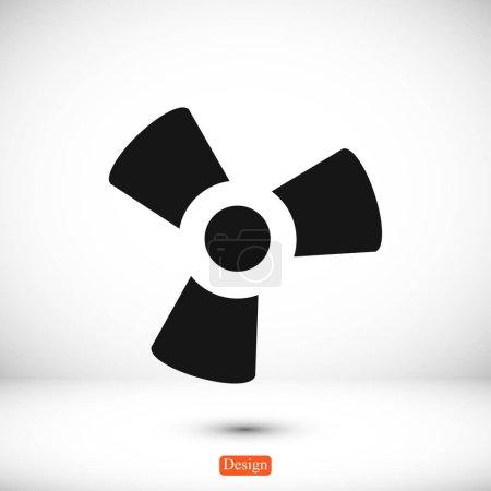 propeller flat icon