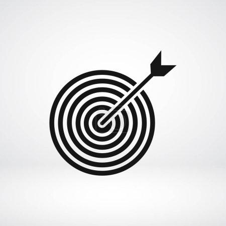 Target flat icon