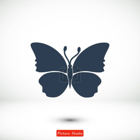 Butterfly card icon