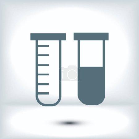 tubes flat icon