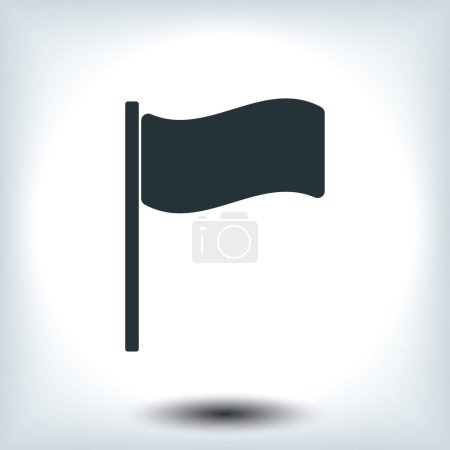 flag sign icon