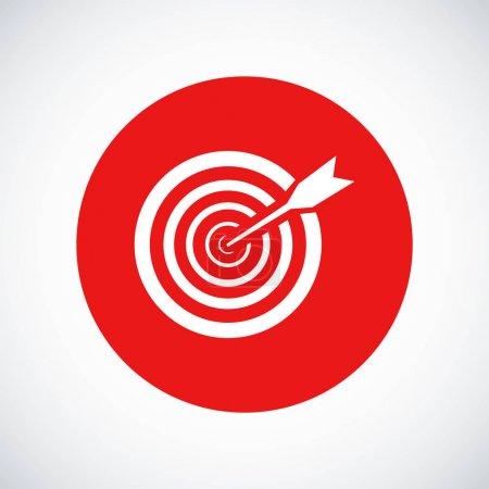 White aim icon