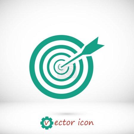 Green aim icon
