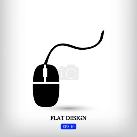 Black mouse icon