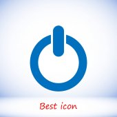 power icon illustration