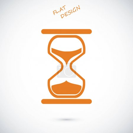 vintage hourglass icon