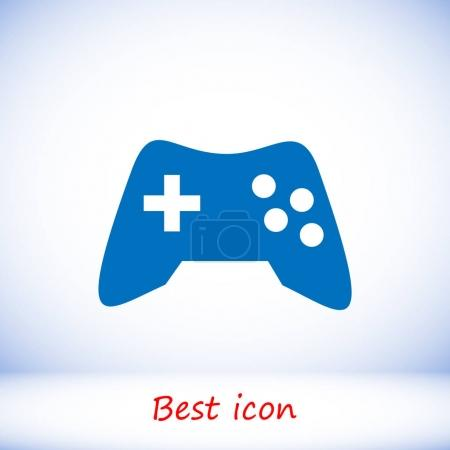 Blue game icon