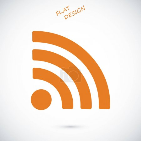 podcast flat icon