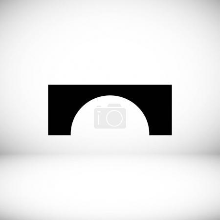 Bridge flat icon