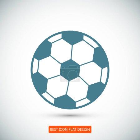 ball flat icon