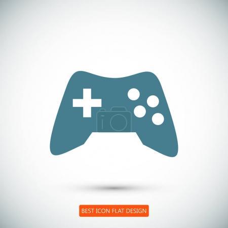 joystick flat icon