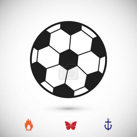 classic soccer ball icon